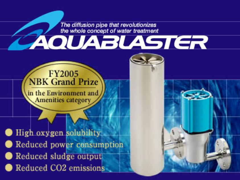 Aquablaster technology